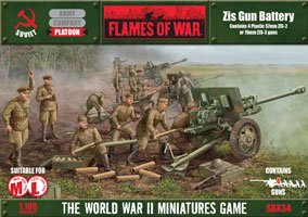 Flames of War Zis Gun Battery