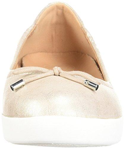 Fitflop Kvinders Superbendy Ballerina Ballet Flad Metallisk / Sølv xIvRo7NA1J
