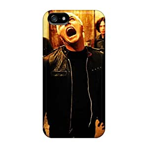 Shock Absorption Hard Phone Cases For Iphone 5/5s With Provide Private Custom Trendy My Chemical Romance Band Series LauraAdamicska