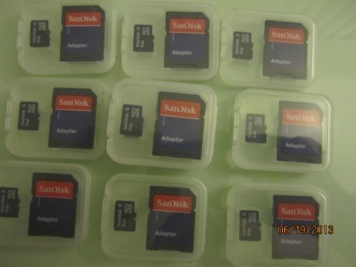 Sandisk microsdhc 8gb class 2 card with sd adapter (sdsdq-8192) 3 high storage capacity (8gb) for storing essential digital content such as high quality photos, videos, music and more speed performance rating: class 2 (based on sd 2. 00 specification) high quality microsdhc card backed by 5 year limited warranty