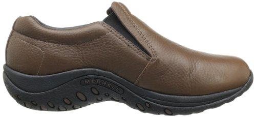 Merrell JUNGLE MOC - Zapatillas de casa de cuero mujer Marrón Caoba