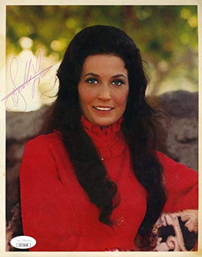LORETTA LYNN JSA Coa Hand Signed 8x10 Photo Autograph Authentic