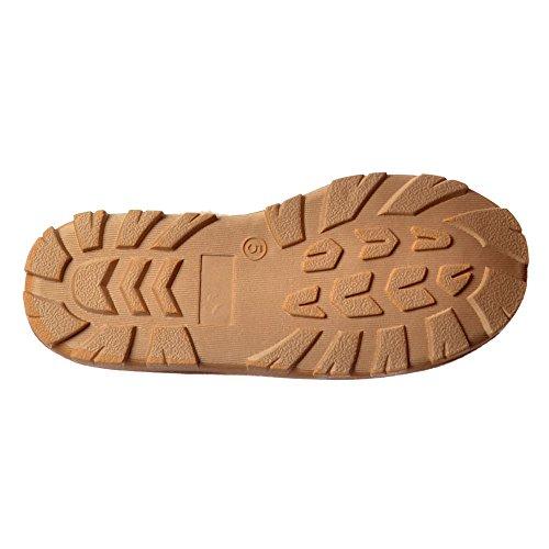 Pantofole Da Donna In Pelliccia Di Lusso Con Fodera In Suola Resistente