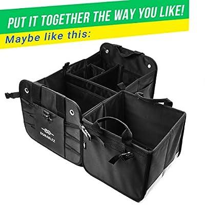 DURABLEZ 3- and 4-Compartment Trunk Organizer Builder: Automotive