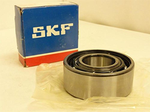SKF 3309 A/C3 Double Row Ball Bearing, Converging Angle Design, 32° Contact Angle, ABEC 1 Precision, Open, Standard Cage, C3 Clearance, 45mm Bore, 100mm OD, 1 9/16