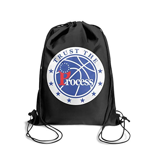 Sios07 Players Sackpack Drawstring Backpack Cinch Printted Custom Pattern Reusable