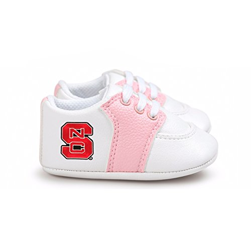 Future Tailgater NC State Wolfpack Pre-Walker Baby Shoes - Pink - Wolfpack Pajamas Nc State