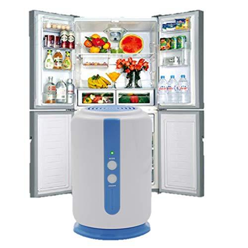 HYRL Ozone Water and Air Purifier, Ozone Generator for Cleaner Fridge Food Fruit Vegetables Shoe Wardrobe Car Fresh Air Purifier