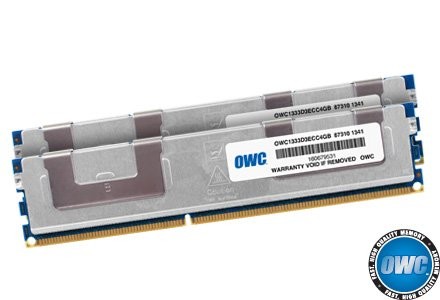OWC 8.0GB (2 x 4GB) DDR3 ECC PC10600 1333MHz SDRAM ECC For Mac Pro by OWC