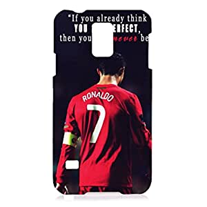 The Cristiano Ronaldo Phone Case,Samsung Galaxy S5 Phone Case Cover,Durrable Protective Phone Case For Samsung Galaxy S5