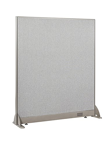 Office Furniture Dividers - GOF Freestanding Office Partition, Large Fabric Room Divider Panel, 48