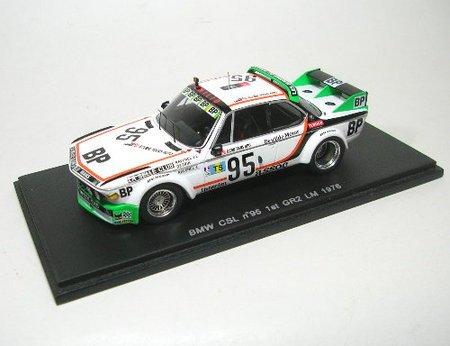 1/43 BMW CSL 1976年ル・マン24時間Gr.2優勝#95 ドライバー:J.L-J.Ravenel/J-M.Detrin S1569
