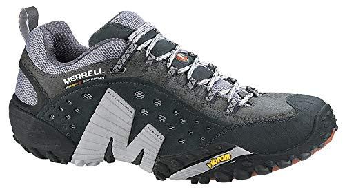 fc38b5102f4a7 Merrell Intercept J73785 Outdoor Hiking Trekking Trainers Athletic Shoes  Mens J73785 Charcoal 8 UK