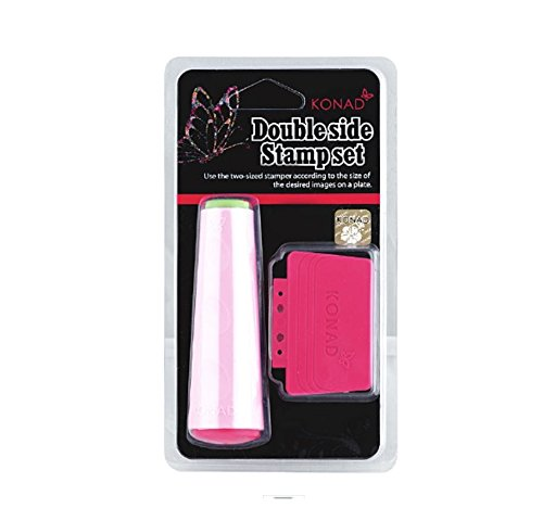 (Konad Nail Art Double Ended Stamper And Scraper)