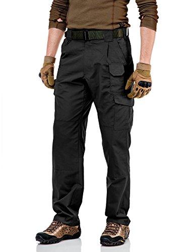 CQR Men's Tactical Pants Lightweight Assault Cargo TLP-101