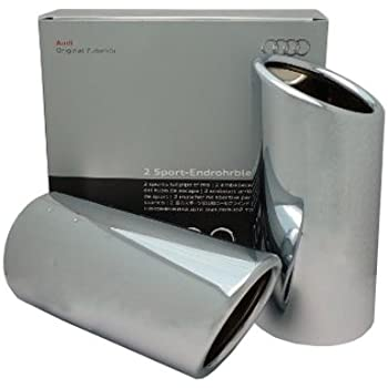 Genuine Audi 8V0071761 Chrome Exhaust Tip
