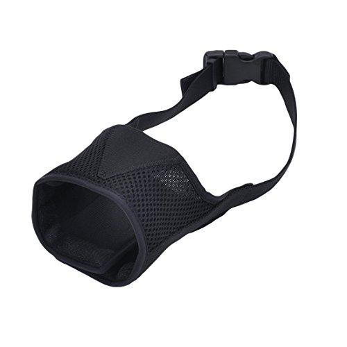 Coastal Dog Muzzle (Coastal Pet Best Fit Adjustable Mesh Dog Muzzle (Black, Size 3))