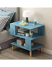 MODIRNATION 'Levitan' Comtemporary Wooden End Table, Modern Side Table, Home and Office Furniture, Minimalistic Bedside Nightstand