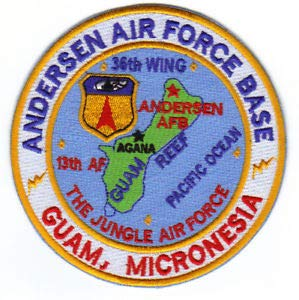 Andersen AFB, Guam Micronesia, 13TH AF, 36TH Wing, The Jungle AIR Force by HighQ Store