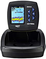 LUCKY Fisch-Finder für Boot Dual-Frequenz Farbe Bildschirm Fishfinder Kajak Angeln
