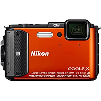 Amazon.com : Nikon Coolpix AW130 Shock & Waterproof GPS Digital ...