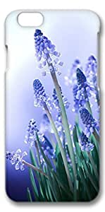 iPhone 6 Case, Custom Design Covers for iPhone 6 3D PC Case - Blue Purple Flower by icecream design