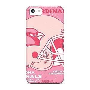 New Premium Flip Case Cover Arizona Cardinals Skin Case For Iphone 5c