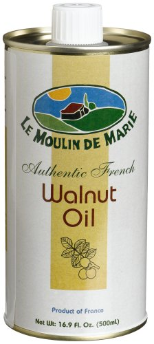 Le Moulin de Marie Walnut Oil, 16.9-Ounce Cans (Pack of 3)