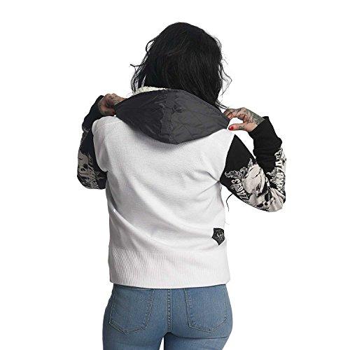 Teddy Yakuza Invernale Jacket Skull Bianco Giacche Giacca Donna CrxqBCwF