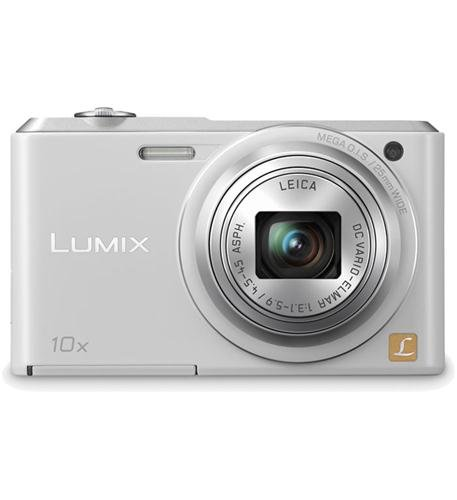 Panasonic Lumix DMC-SZ3 16.1 MP Compact Digital Camera  with 20x Intelligent Zoom (White) (OLD MODEL)