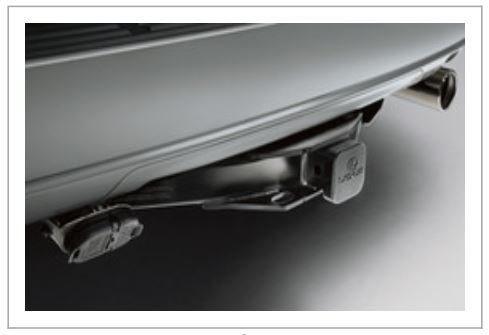 (LEXUS OEM Factory Tow Hitch GX460 Class IV PT228-60140)