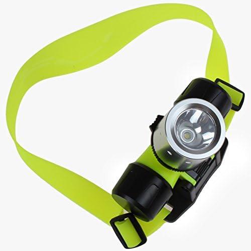 Linterna Cabeza Frontal LED, Sumergible e Impermeable, Batería ...