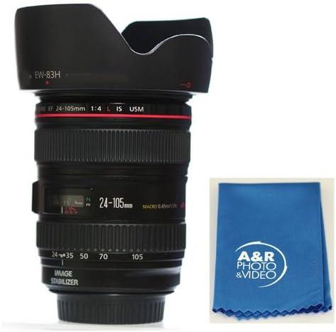 Digital Lens Hood EW-83H for Canon EF 24-105mm f//4L is USM Zoom Lens EW83H Shade