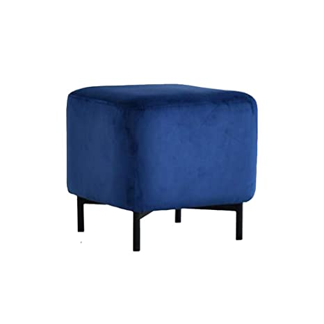 Fantastic Amazon Com Ycsd Nordic Upholstered Square Footstool Ottoman Andrewgaddart Wooden Chair Designs For Living Room Andrewgaddartcom