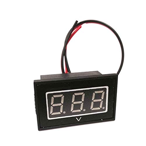 Topker 48V Golf Cart Digital Volt Meter Battery Gauge Replacement for Club Car EZGO Yamaha 48 Volt Blue: