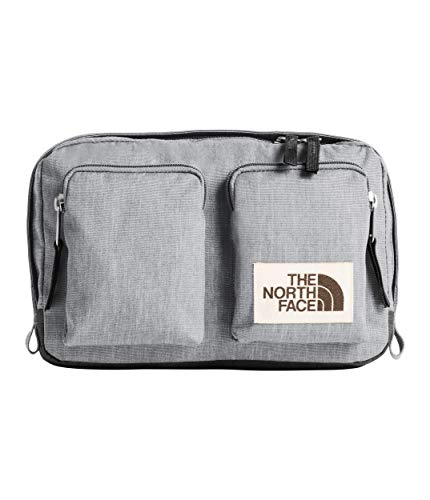 - The North Face Unisex Kanga Pack Mid Grey Light Heather/TNF Black Heather One Size