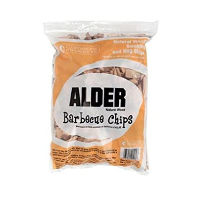 Wood Smoker Chips - 100% All Natural Wood Smoking and Barbeque 2lb Bag of Chips (Alder) by Camerons Products
