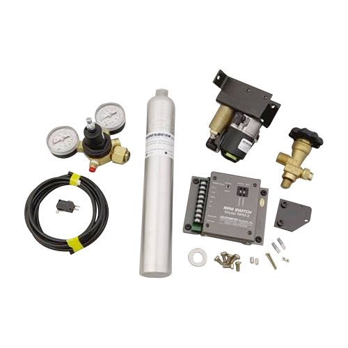 Dedenbear Products AS4K CO2 Shifter Kit with CO2 Bottle and RPM - Co2 Shifter