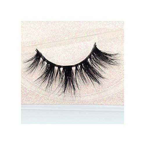 Eyelashes 3D Mink Lashes Makeup Soft Fluffy Eyelashes Full Volume False Eyelash ()