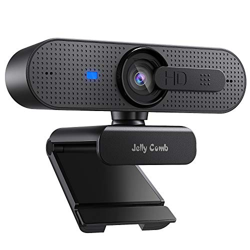 🥇 Jelly Comb Cámara Web 1080P HD con Tapa de Lente
