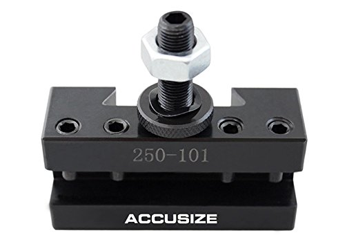 AccusizeTools - 9-12'' Professional Wedge Type Quick Change Tool Post 6 Pcs/Set for #100 AXA, 0251-0111 by Accusize Industrial Tools (Image #7)