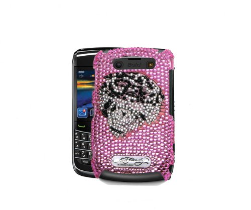 Ed Hardy Crystal Faceplate for BlackBerry Bold 9700 - Tig...