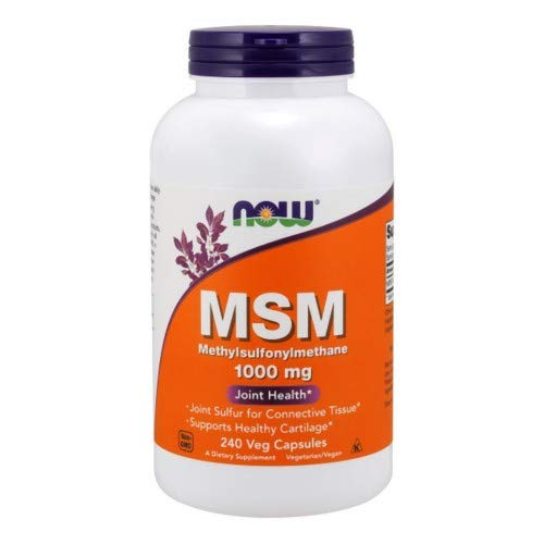 M.S.M, 1000 mg, 240 Caps by Now Foods (Pack of 6)