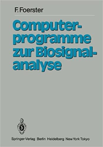 Computerprogramme zur Biosignalanalyse (German Edition)