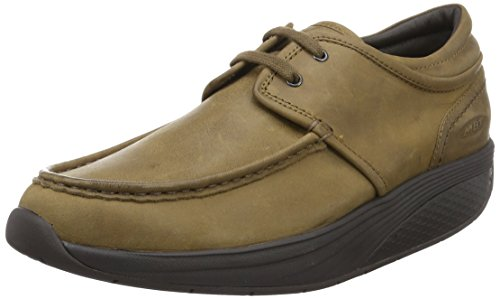 Marrone Sneaker Uomo Dark Kheri Basso a Collo 6s Wood MBT axw4E0qx