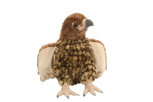 (Wild Republic Red Tailed Hawk Plush, Stuffed Animal, Plush Toy, Gifts Kids, Cuddlekins, 12 Inches)