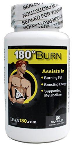 180 de Lean Burn - thermogénique