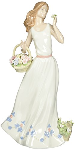 Cosmos 10402 Breezy Spring Time Lady Ceramic Figurine, ()