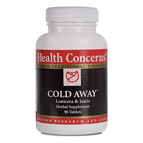 Health Concerns - Cold Away - Lonicera & Isatis Herbal Supplement - 90 Tablets ()