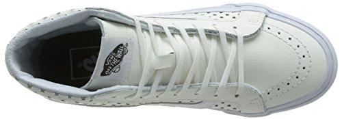 Zapatillas De Skate Vans Unisex Sk8-hi Slim (perf Stars) Blanco